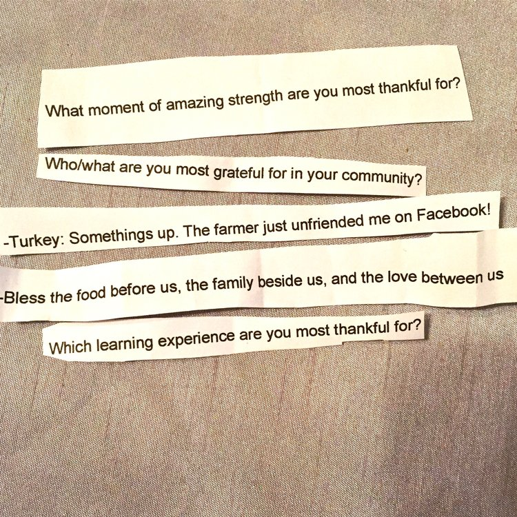 8 Ways To Give Thanks At The Table The Table Underground