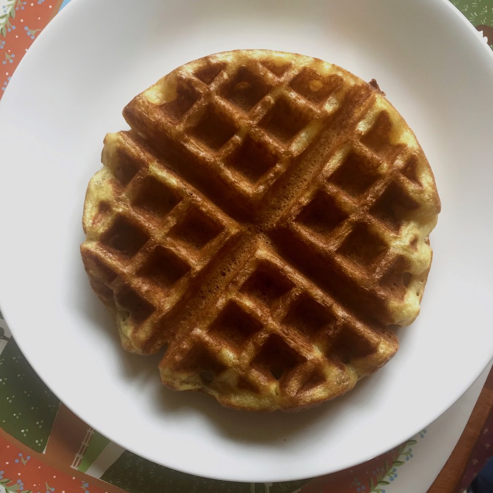 Emily's Sourdough Waffles