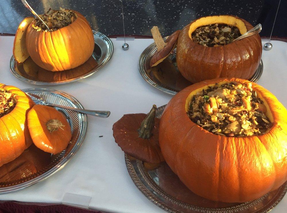 From Wampanoag Chef Sherry Pocknett's Thanksgiving feast at the  Mashantucket Pequot Museum