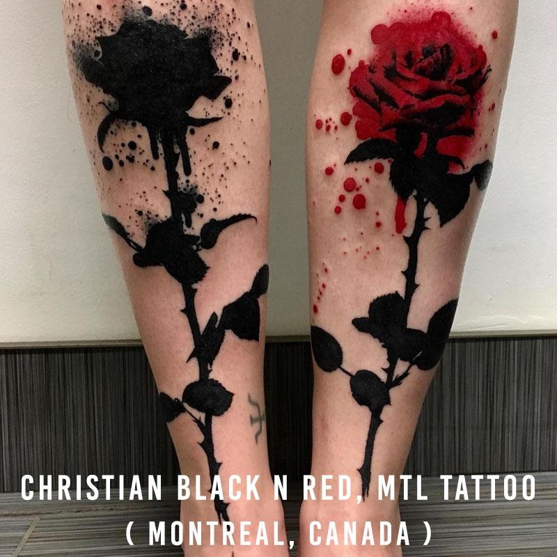 Christian Black 'n' Red