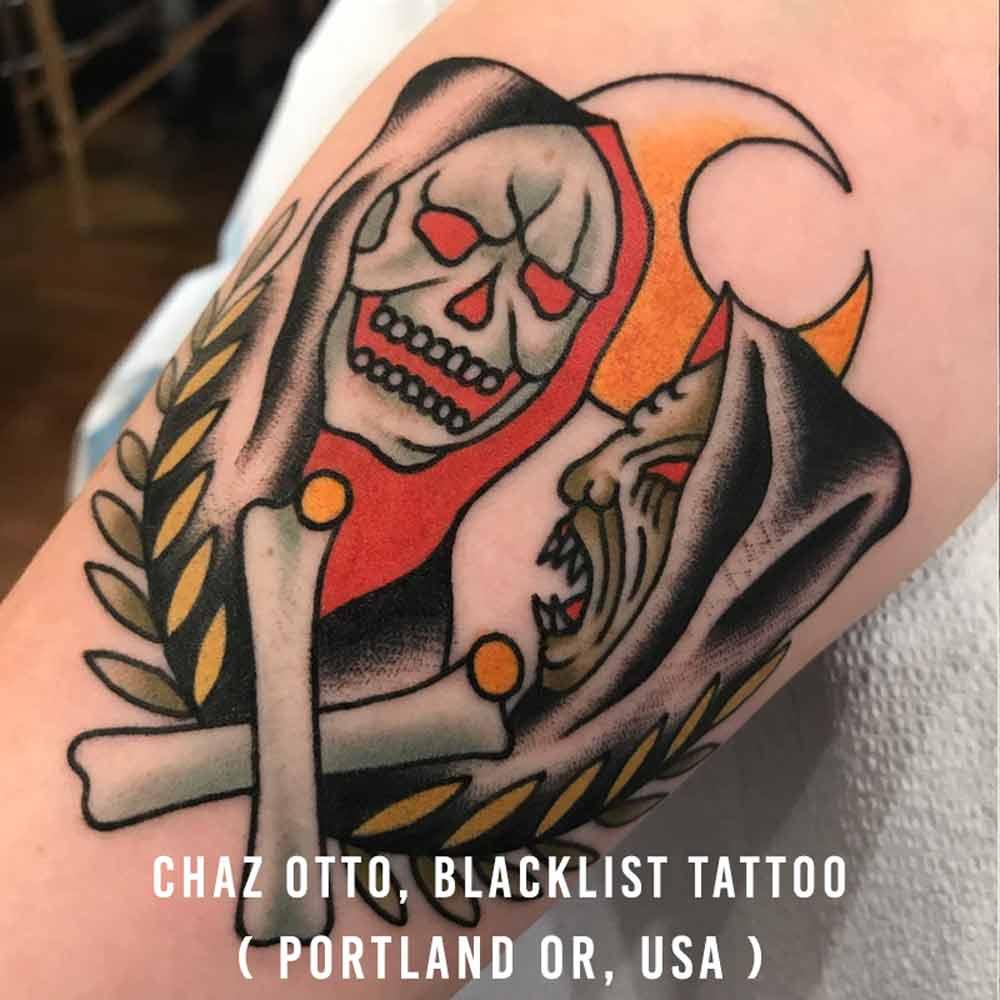 Chaz Otto, Blacklist Tattoo