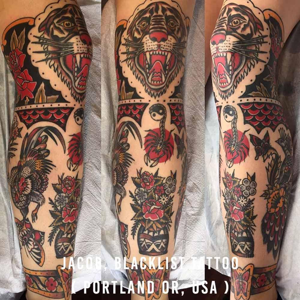 Jacob, Blacklist Tattoo