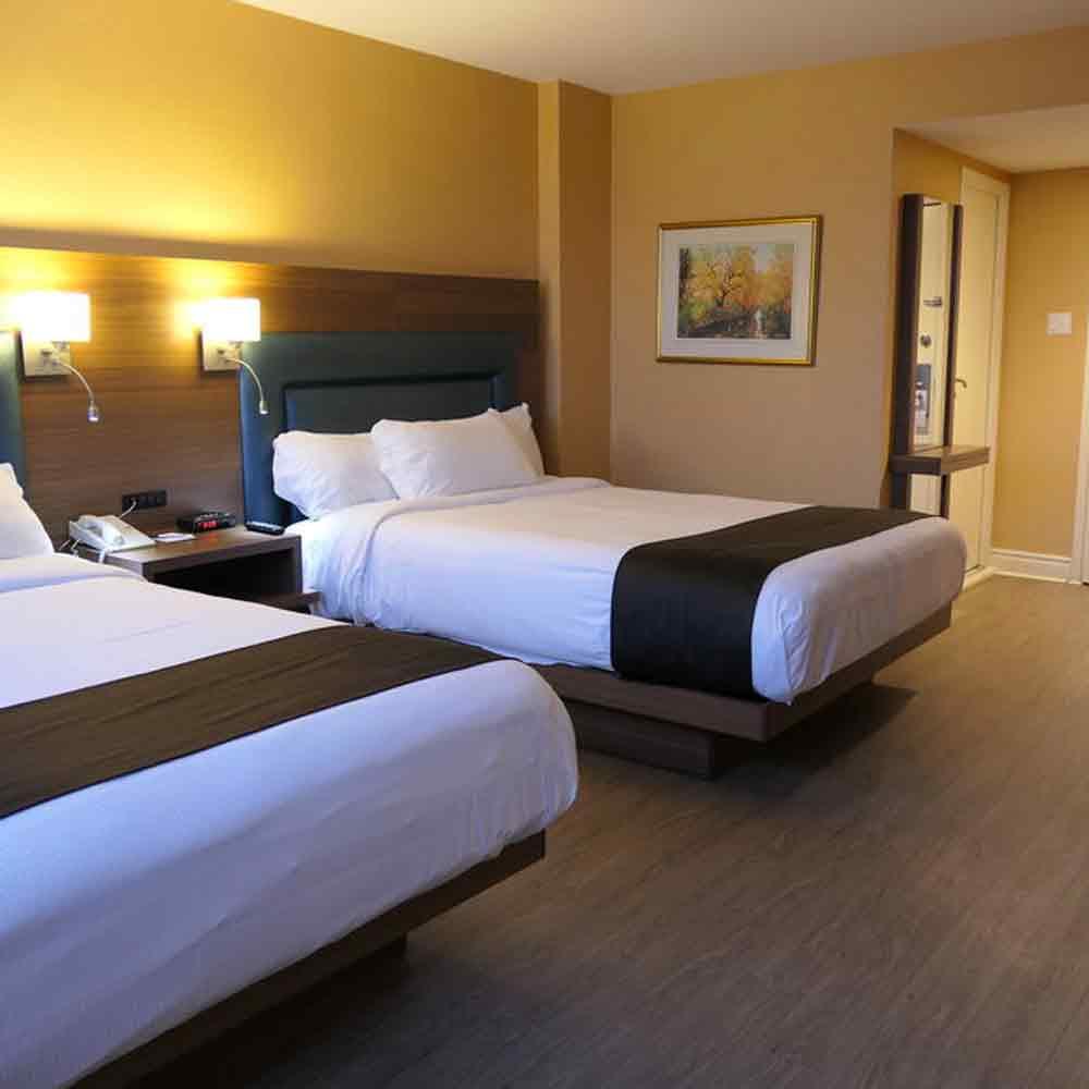 HOTEL ESPRESSO  - ....700 m - 8 min walk)1005 Guy street,Montréal,H3H 2K4Phone: +1 (514) 938-4611Toll free: +1 (877) 468-3550..(700 m - 8 min a pied)1005 rue Guy,Montréal,H3H 2K4Tel: +1 (514) 938-461Sans frais: +1 (877) 468-3550....