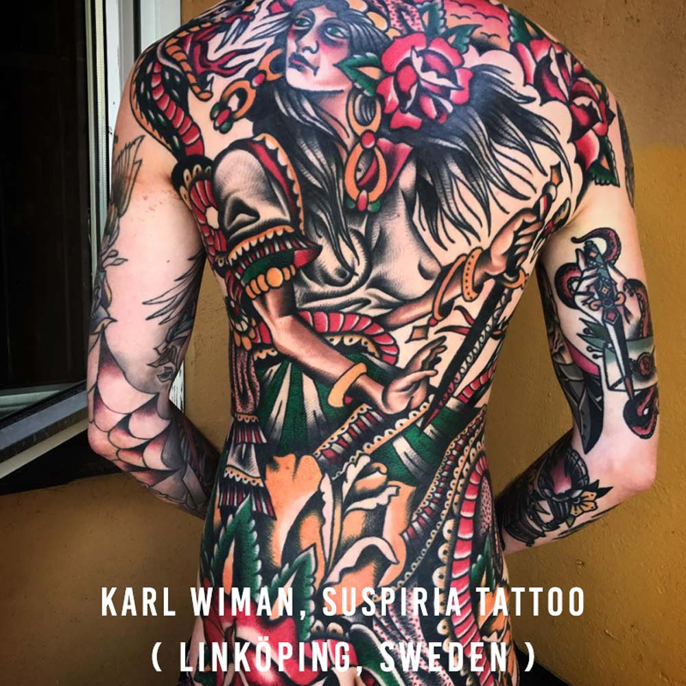 Karl Wiman, Suspiria Tattoo