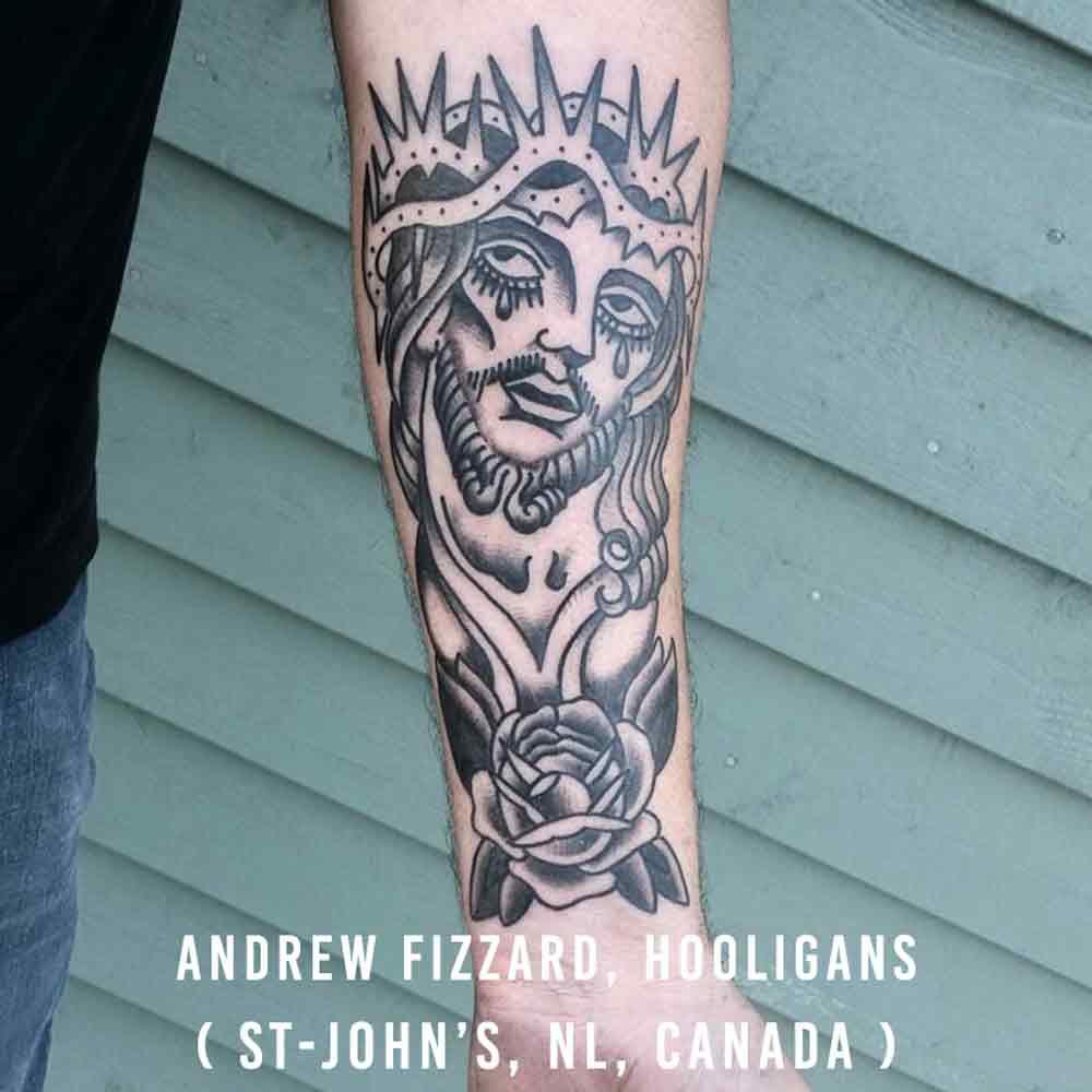 Andrew Fizzard, Hooligans Tattoo