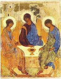 Feest van de H. Drie- Eenheid      Ikoon van de H. Andrei Roublov