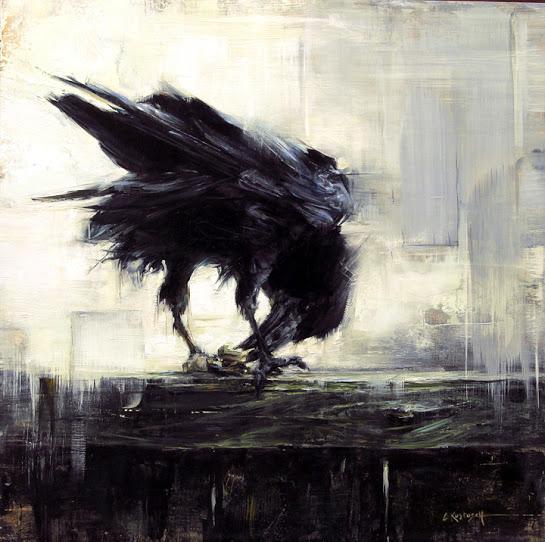 Backyard Raven