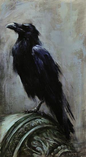 Courtyard Raven