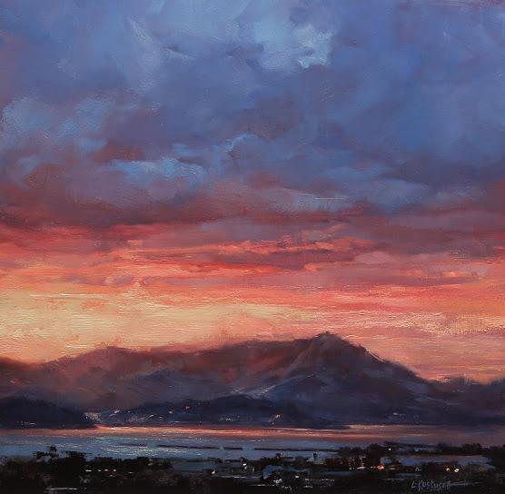 Sundown Over the Hills