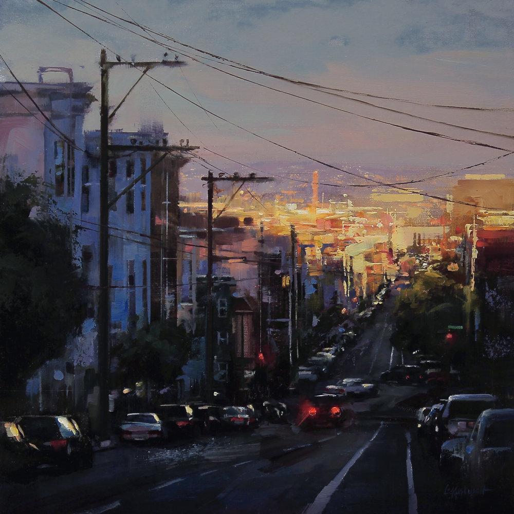 Sundown Over the City