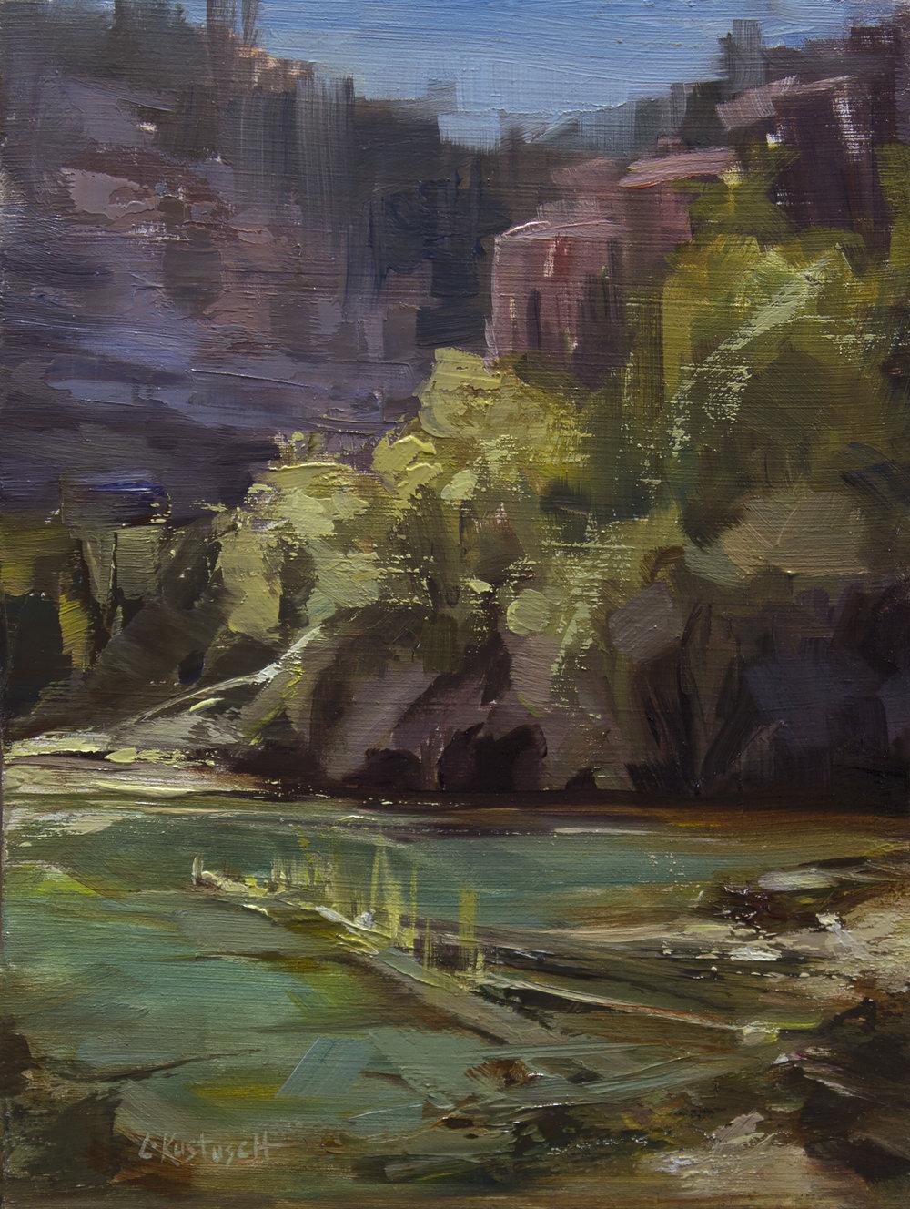 Plein Air and Emerald Lake