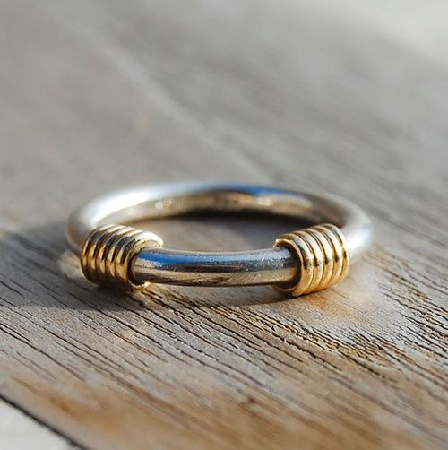 baa0357a2 Vintage 18k Tiffany Blue Sapphire Cabochons Eternity Band Ring