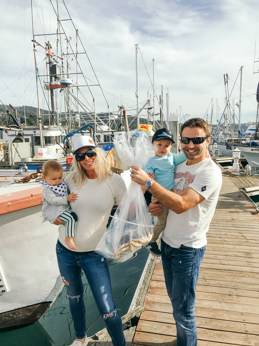 Family Adventure to Half Moon Bay for Crabs quality time mom life mom style