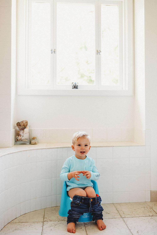 Potty training growing up family bonding toddler mom life babybjorn