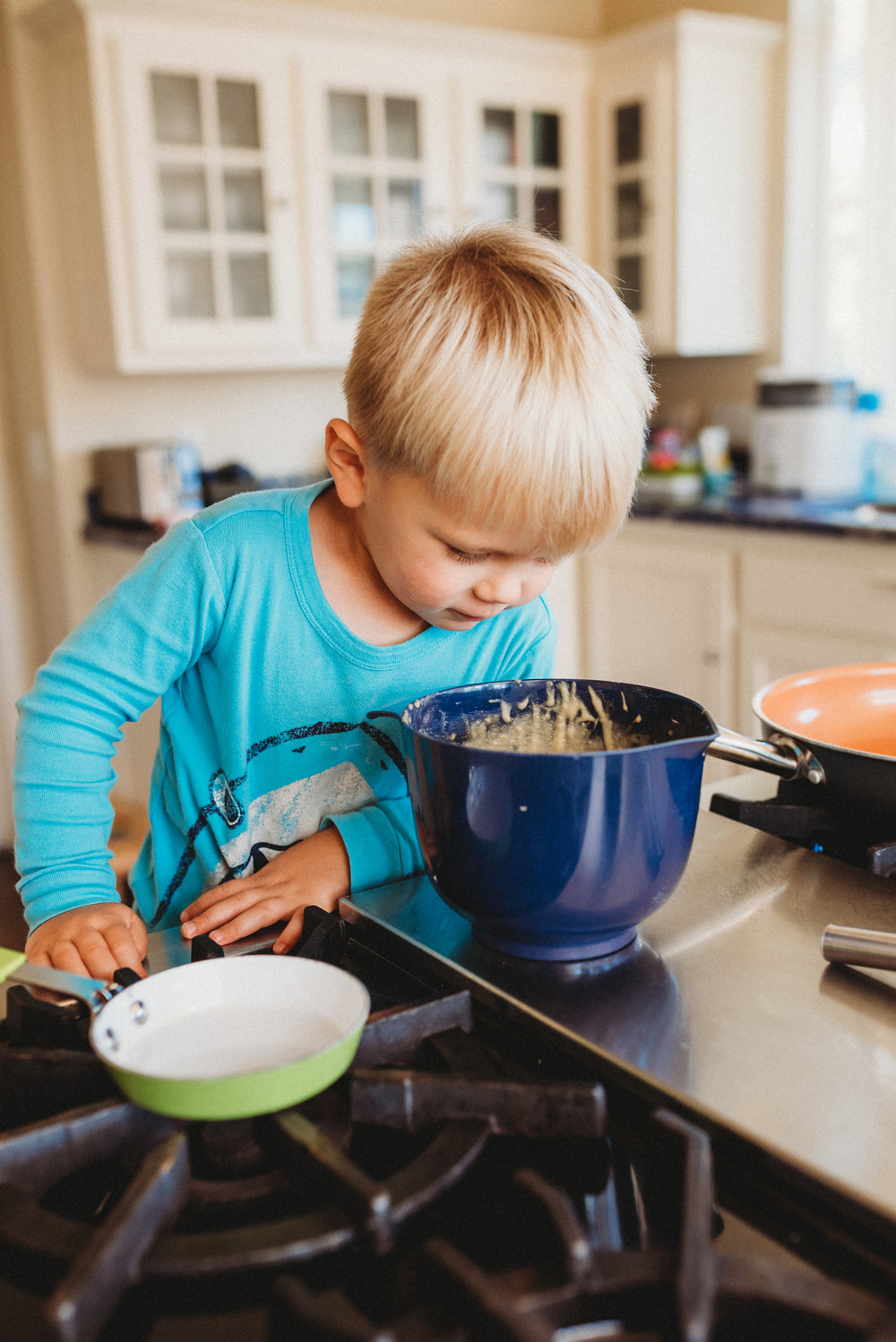 family pancakes morning routine mom of two toddlers pj mornings family time quality time1.jpg