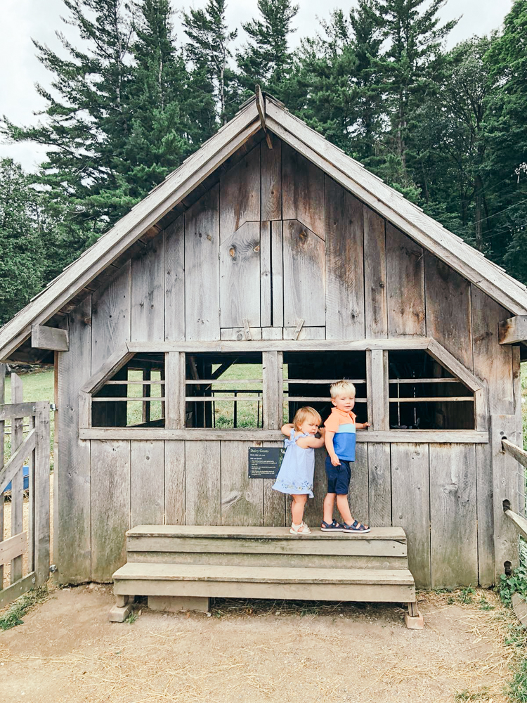 Stowe Vermont Stowe Mountain Lodge Family Vacation Family Holiday Toddler Baby Travel Woods Autumn Cosy Mountains