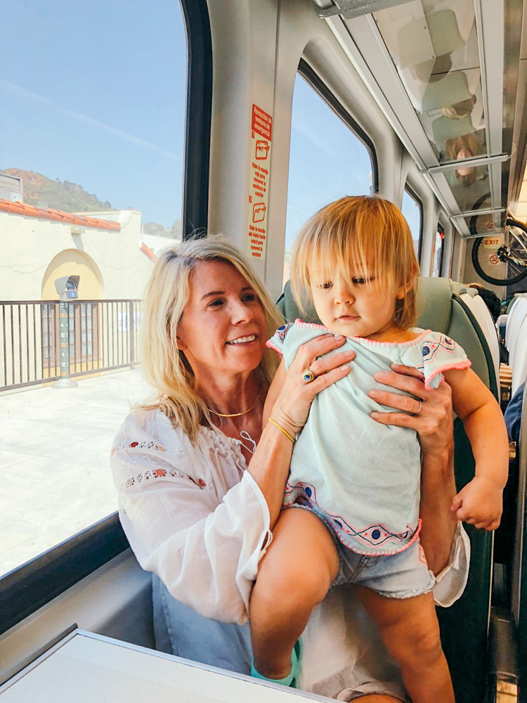 San Rafael Smart Train Family vacation summer vacation beach toddler baby quality time family time sunshine summer
