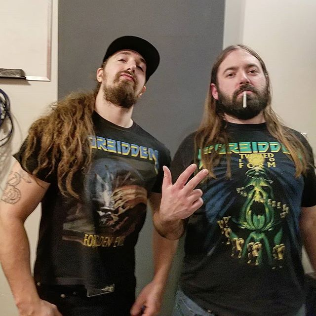 If you don't like Forbidden then fuck off. New tunes almost wrapped up, full album 90 percent done. #forbiddenevil #twistedintoform #forbidden #newalbumclose