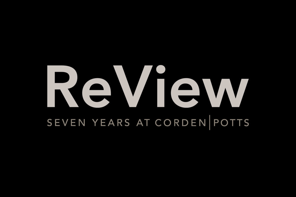 Review: Seven Years at CordenPotts, 2015–2016