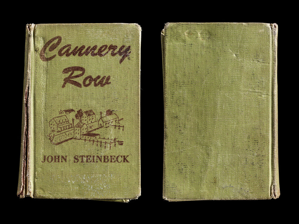 Cannery Row, Covers Front and Back