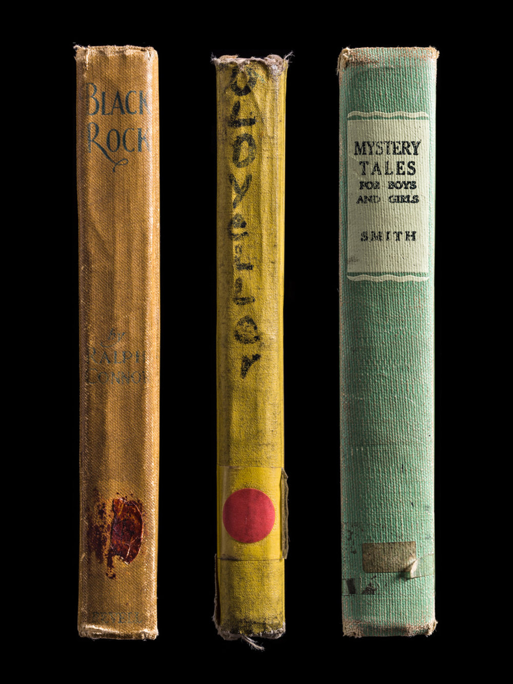 MultipleSpines, Black Rock, Old Yeller, Mystery Tales for Boys and Girls