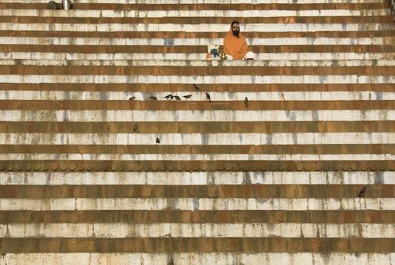 Larry K. Snider, Sadhu on Kedara Kenda Steps