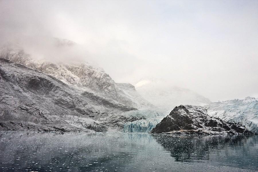 Evigheds Fjord, Eternity Glacier