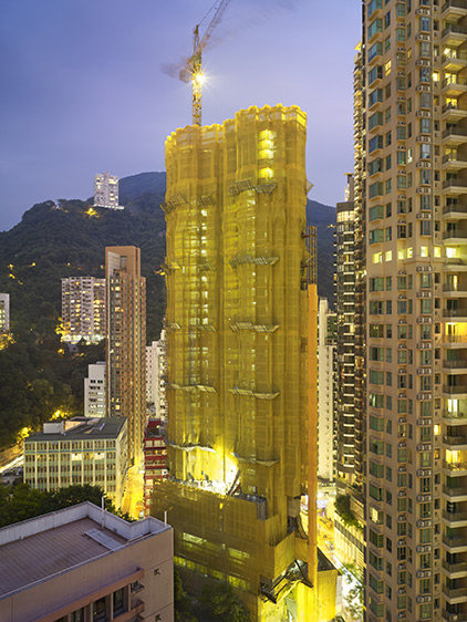 Wanchai Yellow Cocoon