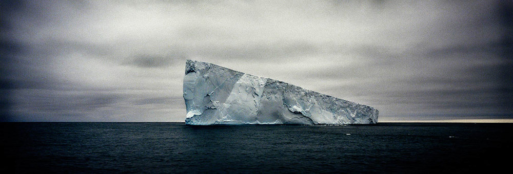 Giant Non-Tabular Iceberg (Wedge)