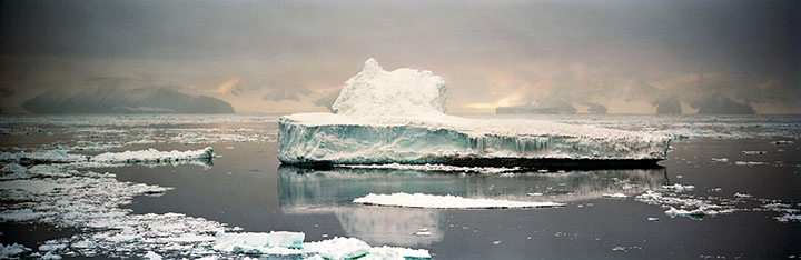 Crumbling Iceberg I