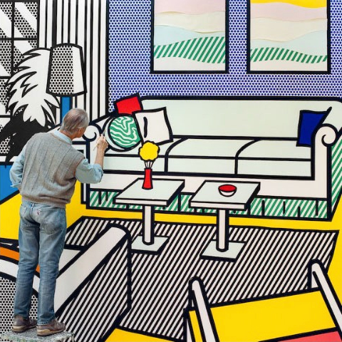 Laurie Lambrecht, In Roy Lichtenstein's Studio, 2010