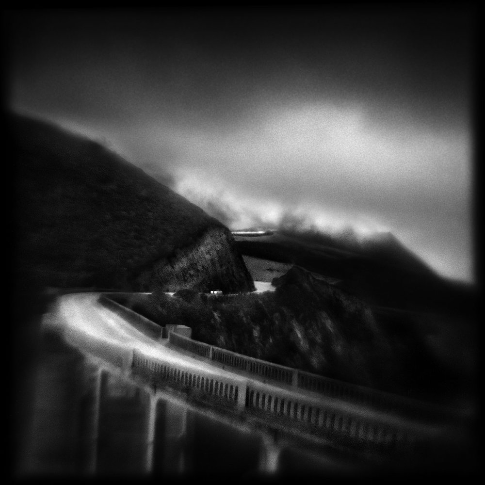 Susan Burnstine, Absence of Being, BIxby Bridge, 6:36am