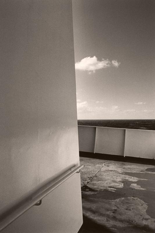 Cloud, Corner, Ocean