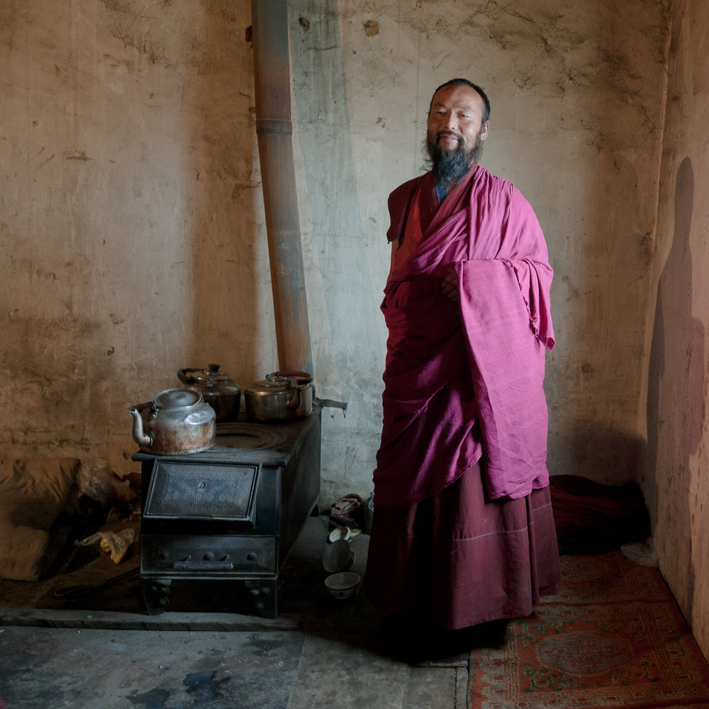 Bearded Monk
