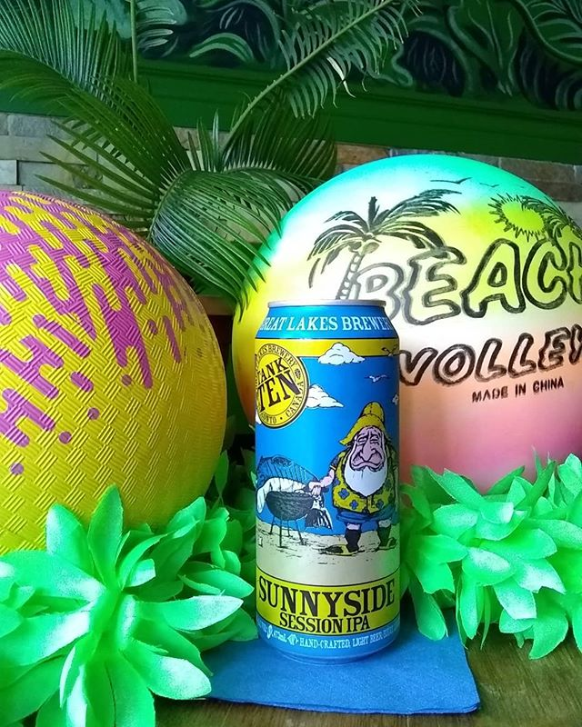tall boys, balls, we've got it all come crack a @greatlakesbeer sunnyside and play pretend . .. ... .... ... .. . #toronto #cocktailbar #beer #greatlakesbrewing #sunny #saturday #weeeeee