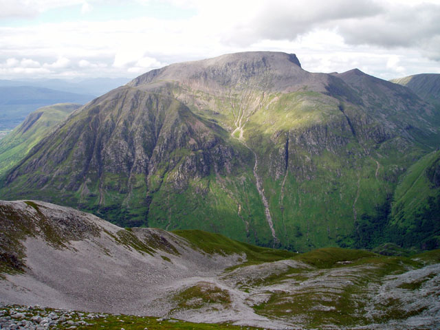 The imposing southern aspect of 'The Ben'