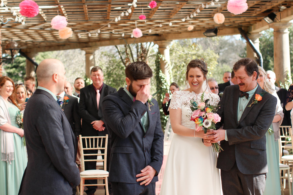 The Sun Pavilion Harrogate Wedding