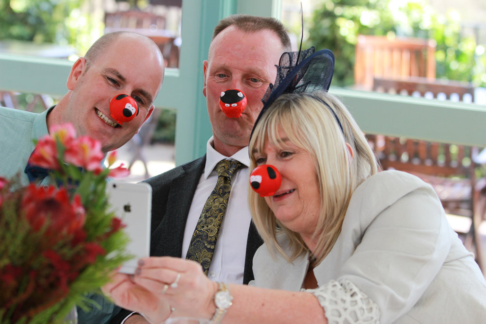Red Nose day wedding comic relief