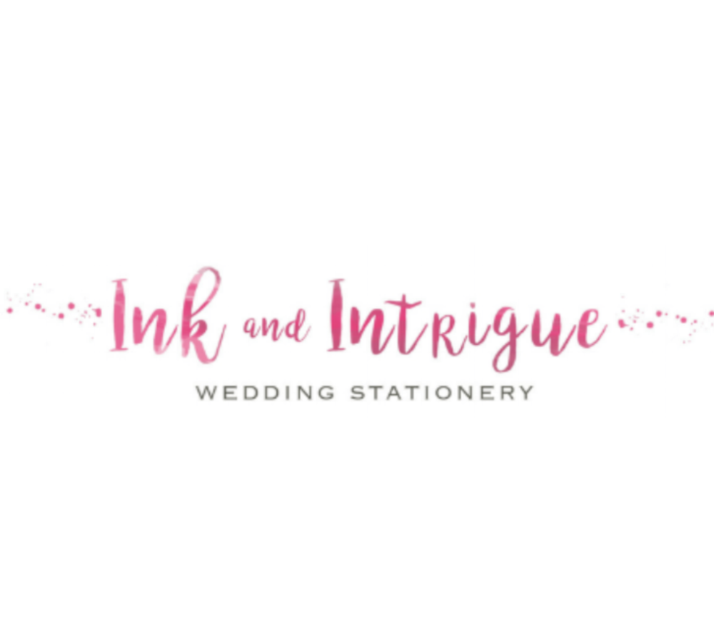 Ink & Intigue Stationers - Crafted with love, care and attention by design duo Sarah and Kim, Ink & Intrigue certainly know how to take the stress out of buying or making wedding stationery. As my personal friends, I can vouch for their ability to design and deliver stationery which is entirely unique and trend-led. They listen intently to the brief and always go above and beyond to create gorgeous inspirational designs which are perfect for any celebration.