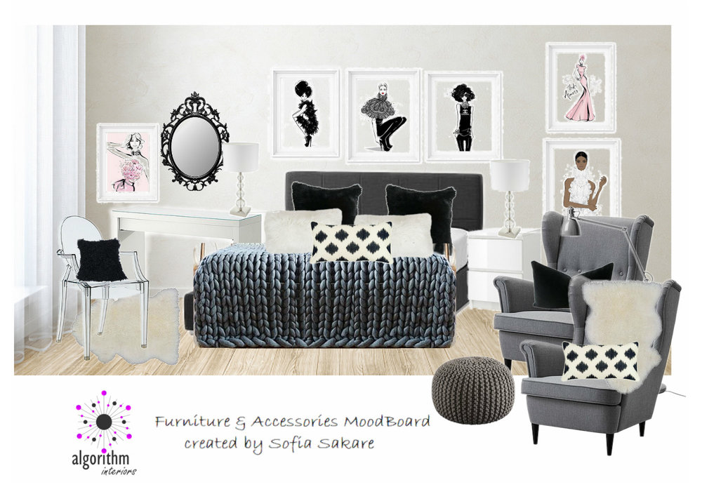 E-Design Mood Board Example