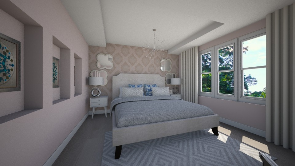 3D Rendering / Master Bedroom