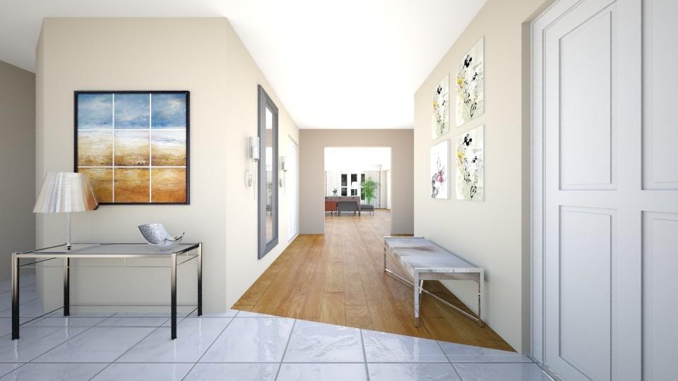 3D Rendering / Contemporary Entryway Design Concept