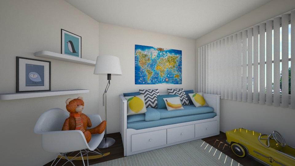 3D Rendering / Kids Bedroom Design Concept