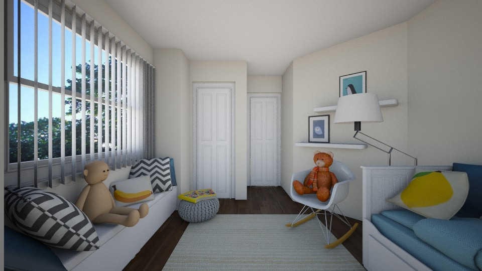 3D Rendering / Boys Room Design Concept