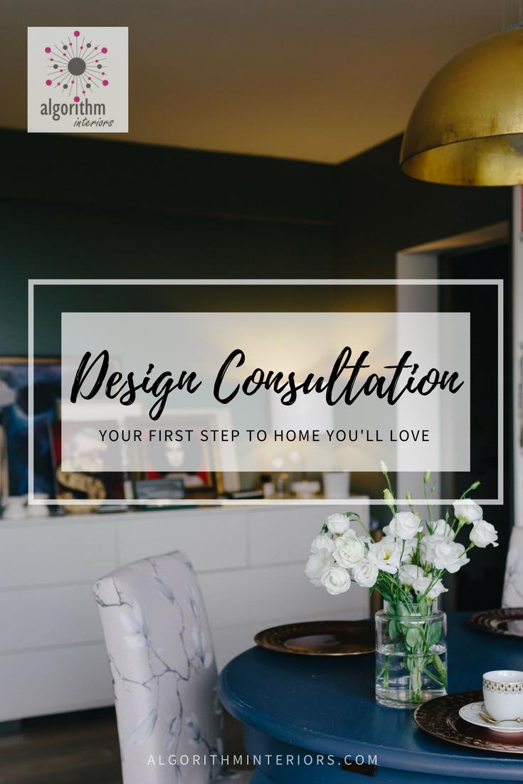 Design Consultations  Algorithm Interiors - Home design consultation