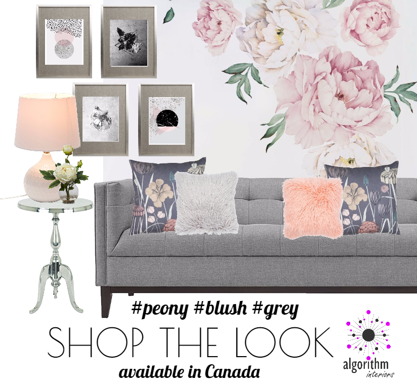 Shop the Look - Peony - Blush - Grey