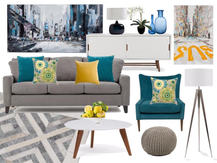 Algorithm interiors virtual interior design mood board example sisterspd