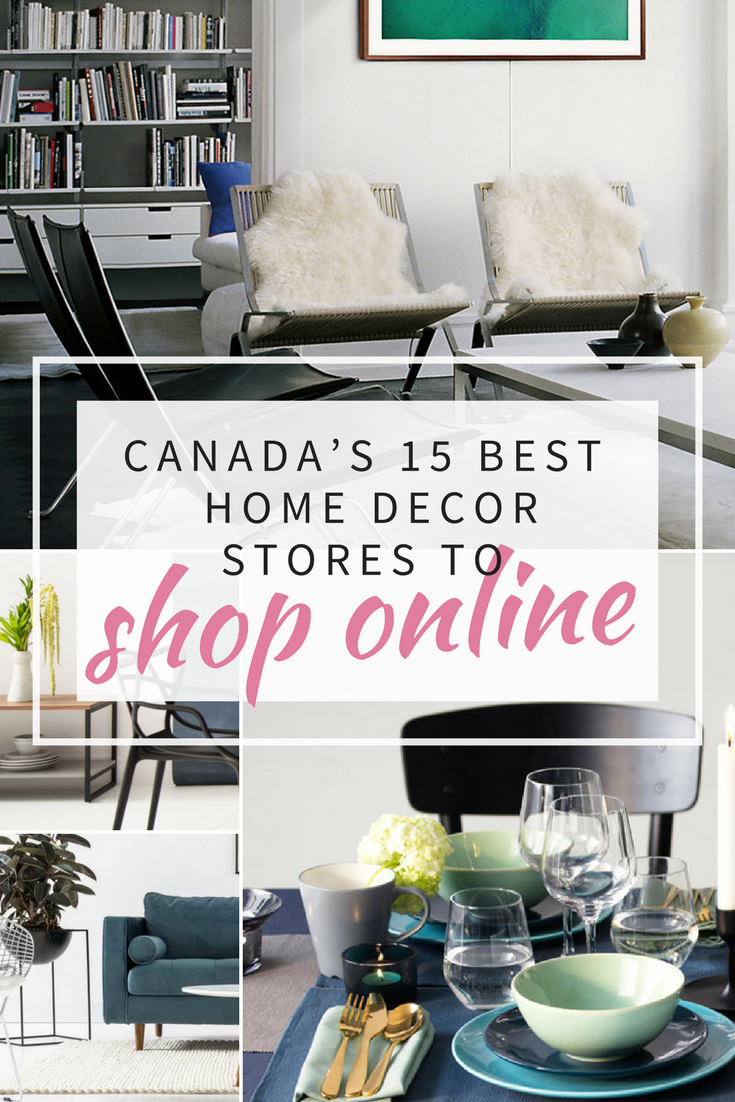 Home Interior Shopping Online Brilliant Canada's 15 Best Home Decor Stores To Shop Online Design Inspiration