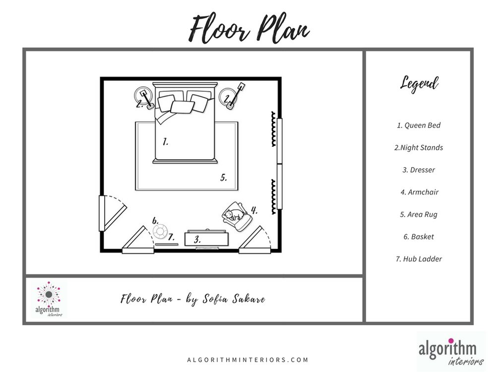 Floor Plan - You can space it!