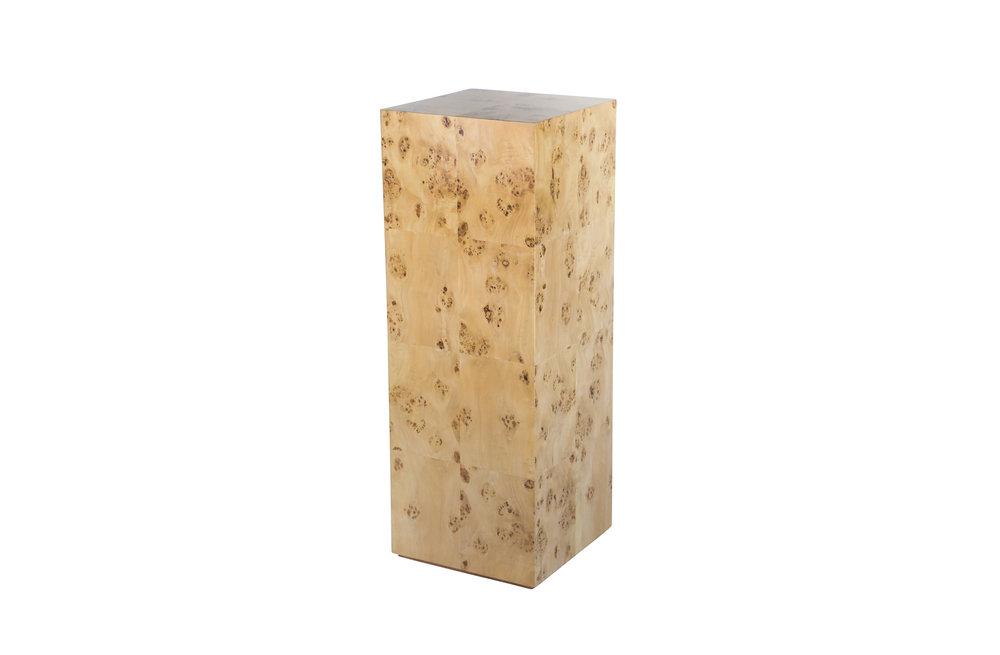 Chloé Burl Pedestal